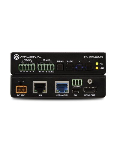 ATLONA ATHDVS200RX HDBASET SCALER