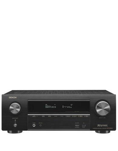 Denon AVRX1500H 7.2 Ch Dolby Atmos 430W  4K AV Receiver with AirPlay and Amazon Alexa voice compatibility