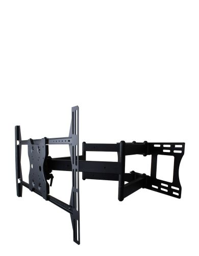 Dual Arm Articulating Mount for 37-80 in. Large Displays (Black)