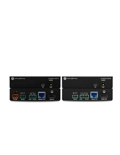 ATLONA ATUHDEX70CKIT 230FT 4K/UHD HDMI Over HDBaseT TX/RX with Control and PoE
