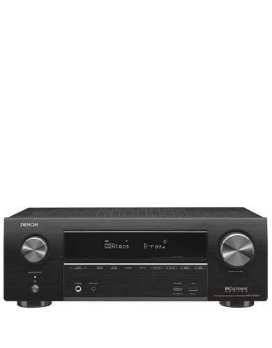 Denon AVRX1500H 7.2 Ch Dolby Atmos 430W  4K AV Receiver with AirPlay and Amazon Alexa voice compatibility