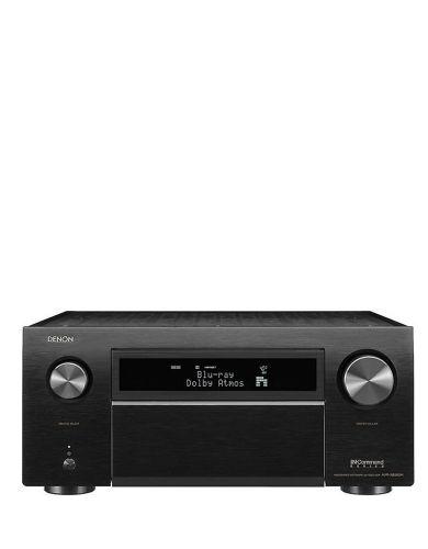 Denon AVR-X8500H Flagship 13.2 Ch (150 W/Ch), Dolby Atmos, DTS-X, Alexa/HEOS/Airplay, HDMI 8 In/3 Out, Audyssey Mic/EQ