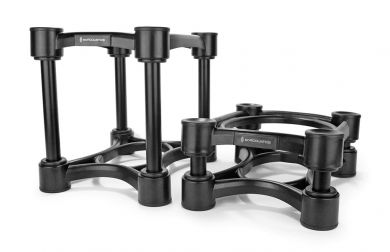 """IsoAcoustics Iso-Stand Series Speaker Isolation Stands, Iso-200 (7.8"""" x 10"""") Pair"""