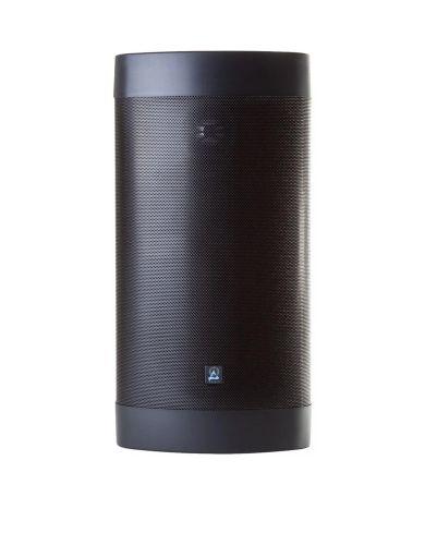 "Origin Acoustics OS67 Outdoor On-Wall Loudspeaker with Aluminum Dome Tweeter, 4x8"" Glass Fiber Woofer, and Dual Passive Radiators (Black)."