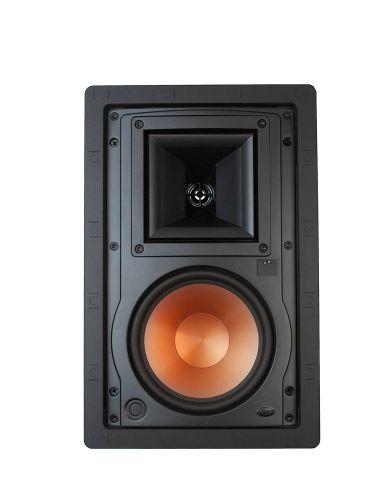 "Klipsch In-Wall Speaker (Sold Individually) R-3650-W II, White w/ 6.5"" Cone"