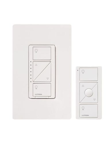 Lutron Remote On a single-tap Companion switch