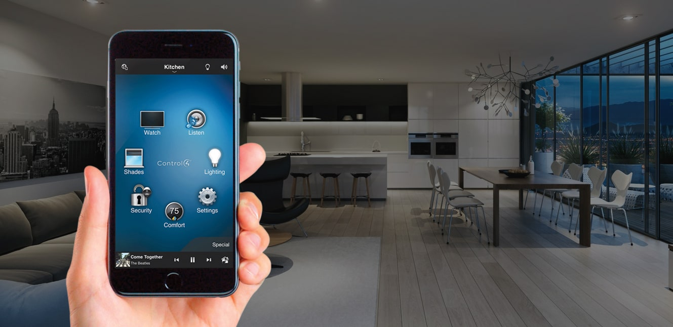 "Award your house a PhD. Create a fully automated ""Smart Home"" with us."