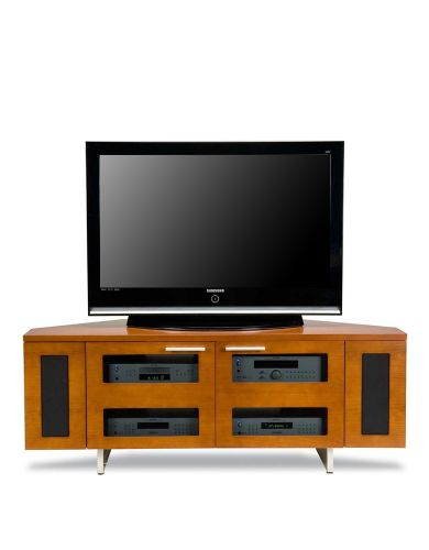 "BDI AVION 8525 Cherry 60"" Wide Media Cabinet"