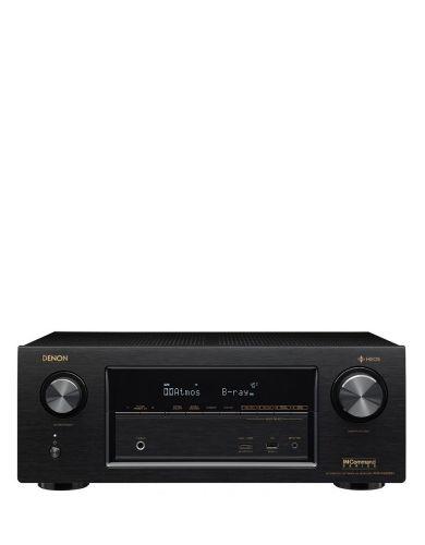 Denon AVRX2400H  7.2 ch Dolby Atmos 500W  4K AV Receiver Bluetooth AirPlay