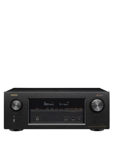 Denon AVRX3400H 7.2 ch Dolby Atmos 600W 4K  AV Receiver Bluetooth AirPlay