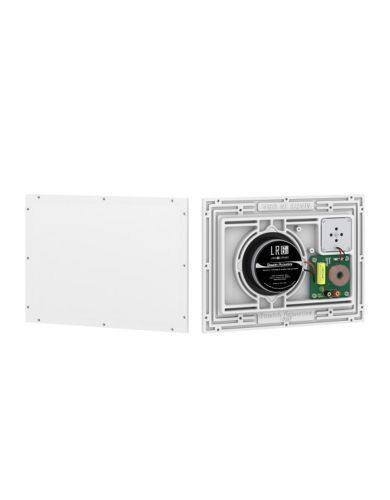 Stealth Acoustics Full Range, 2-Way Invisible In-Wall or In-Ceiling Speaker Pair