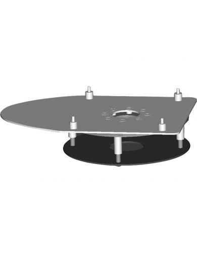 "Crestron SMK6000 Swivel Base Mount for 12"", 15"" Touch Panel"